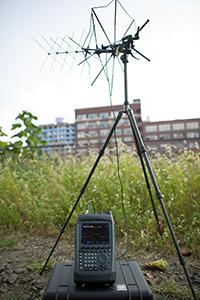 Portable receiving setup